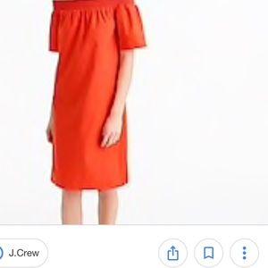 J.Crew Off The Shoulder Dress